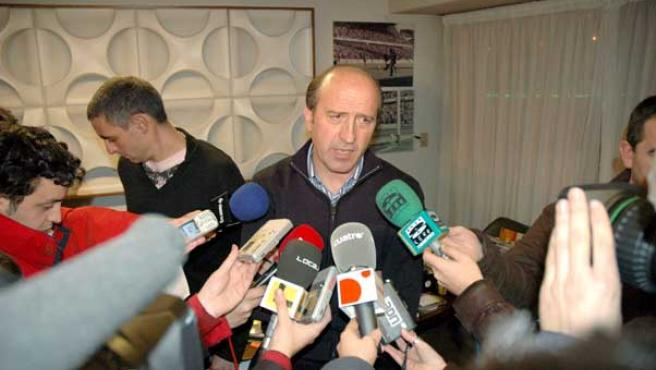 Miguel Angel Lotina, entrenador del Deportivo (EFE).