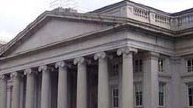 La compañía hipotecaria estadounidense Fannie Mae, en Washington, DC (EEUU) que ha sido intervenida por el Departamento del Tesoro.