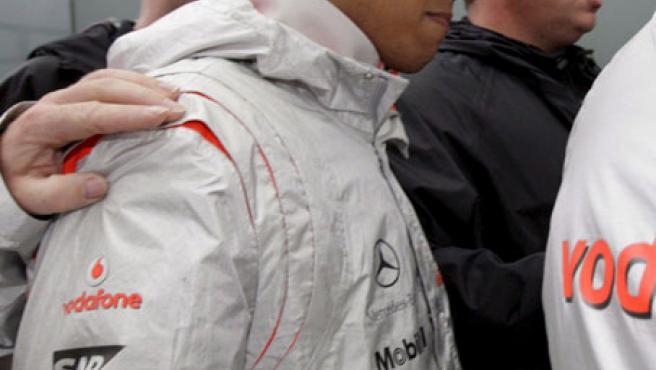 Hamilton (McLaren). Archivo.