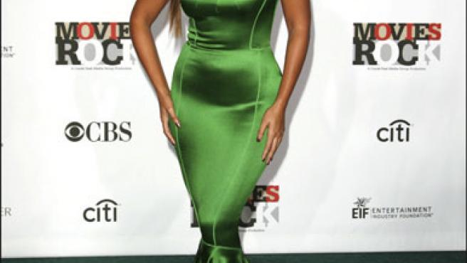 Beyoncé, en una foto de archivo tomada en el Movies Rock 2007.