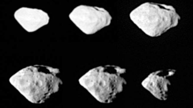 Fotos del asteroide 2867 Šteins.