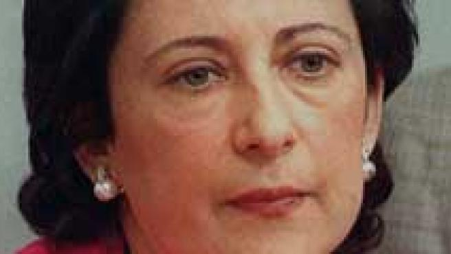 Gema Gallego, Margarita Robles y Margarita Uría.