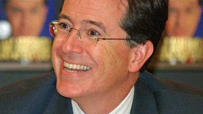 Stephen Colbert presenta en EE UU 'The Colbert Report' (Wikipedia)