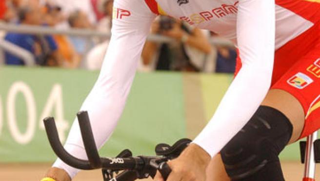 El ciclista paralímpico Roberto Alcaide. (SERVIMEDIA)