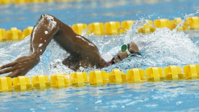 Enhamed Enhamed se adjudicó la única medalla de oro del día. (EFE)