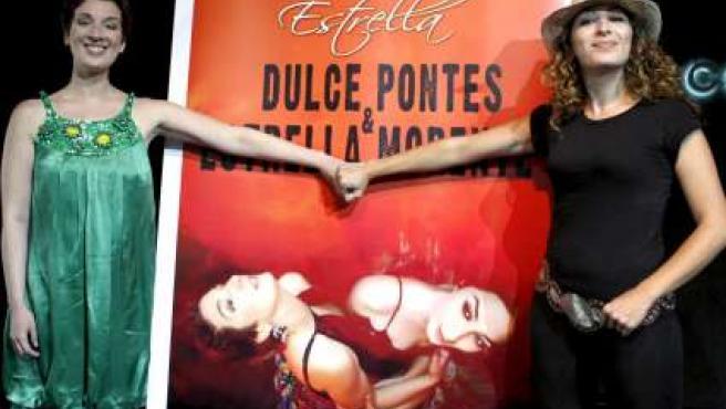 Dulce Pontes y Estrella Morente compartirán escenario en la Bienal.
