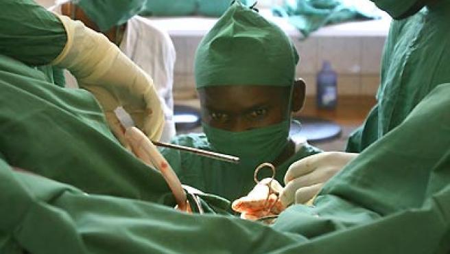 Quirófano del hospital del doctor Mukwege. (HERNÁN ZIN).