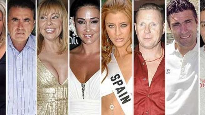 Los participantes de '¡Mira quien baila!.