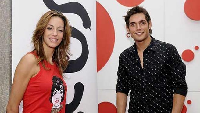 Almudena Cid y Josep Lobató, caras de 'Circus'.