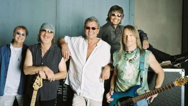 Los componentes de Deep Purple son cinco leyendas vivas del rock.