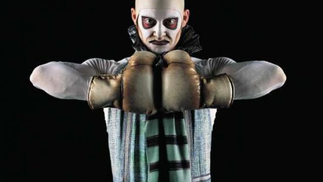 El fortachón Boum Boum, uno de los personajes de Quidam. (FOTO: Cirque du Soleil).