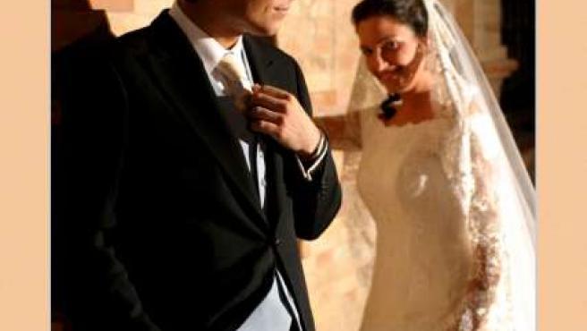 Una pareja, momentos antes de su boda.