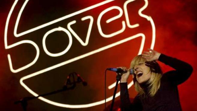 Dover en el concierto de la Plaza Mayor