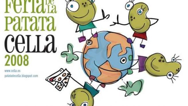 Cartel de la actual edición de la Feria de la Patata de Cella.