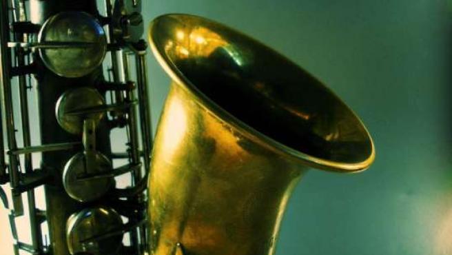 Imagen de un saxofón. (Archivo)