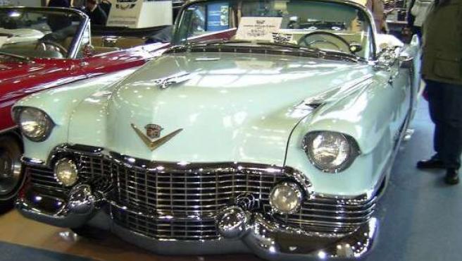 Exposición de coches clásicos. (ARCHIVO).