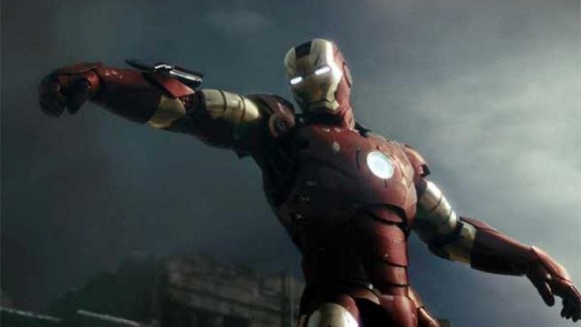 Imagen de 'Iron Man', basada en el comic de Marvel.