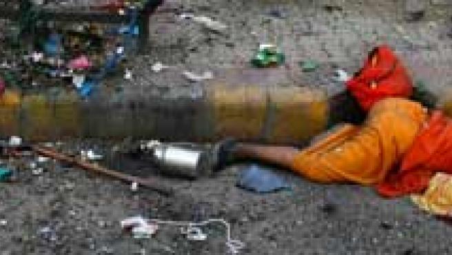 Las bombas estallaron en cadena en varias zonas de la ciudad india. (FOTO: AGENCIAS)