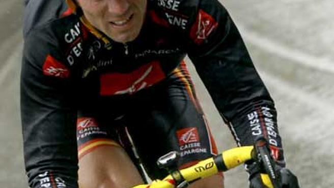 Una imagen de Alejandro Valverde. (AGENCIAS)