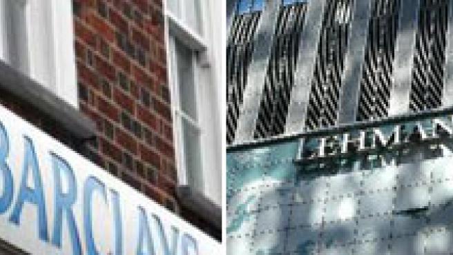 la entidad bancaria inglesa Barclays renuncia a la compra de la deficitaria Lehman Brothers.