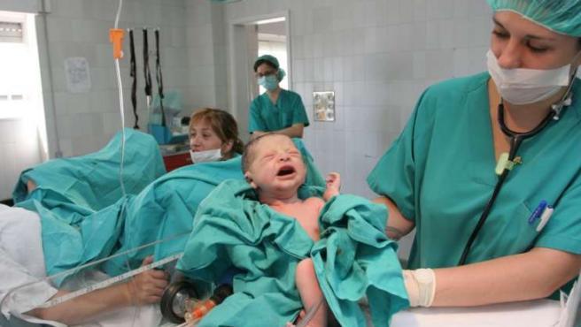Para poder extraer la sangre del cordón, el parto debe ser normal.