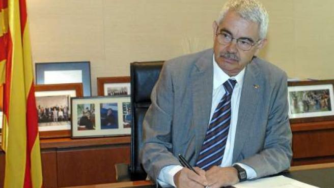 Pasqual Maragall, en una foto de 2006.