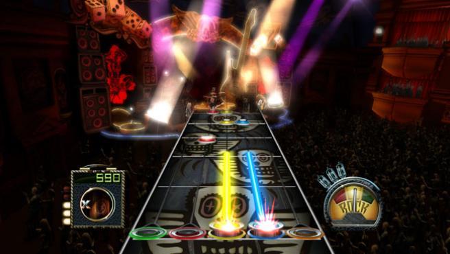 Imagen del juego 'Guitar Hero: Aerosmith'.