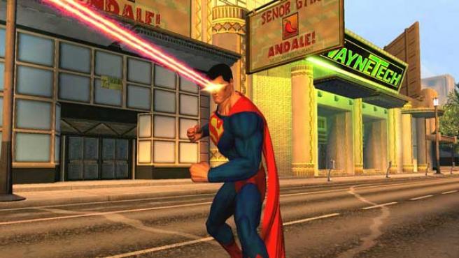 Superman en 'DC Universe Online'.