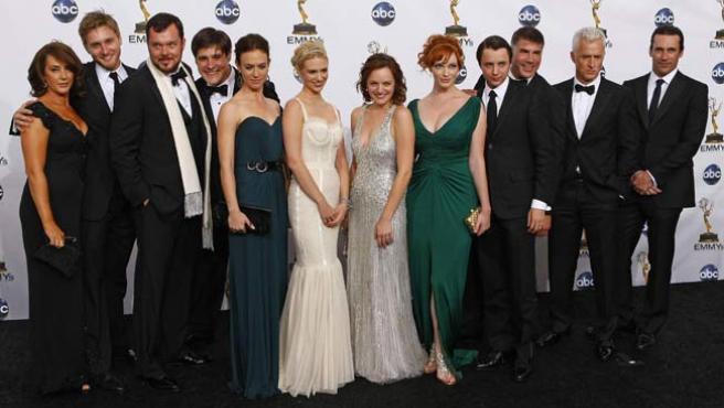 Reparto de Mad Men, en los premios Emmy