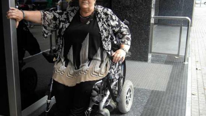 Isabel Garrido vivió una odisea para viajar en trenes de Cercanías.