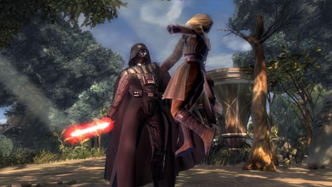 Darth Vader tiene su momento de protagonismo absoluto al inicio del juego.