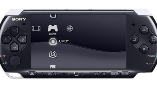 La consola PSP, de Sony.