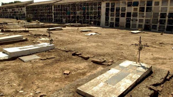 Vista de un cementerio con víctimas de la Guerra Civil (AGENCIAS).