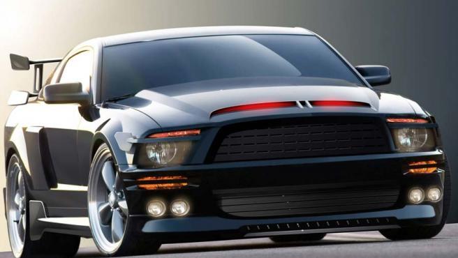 El coche será ahora un Mustang Shelby GT500KR.