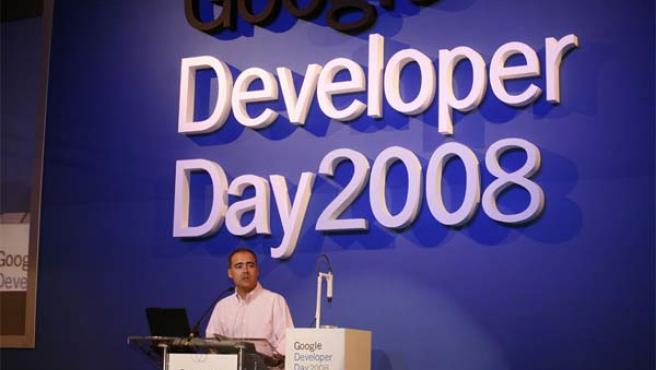 El director general de Google España, en el Developer Day.