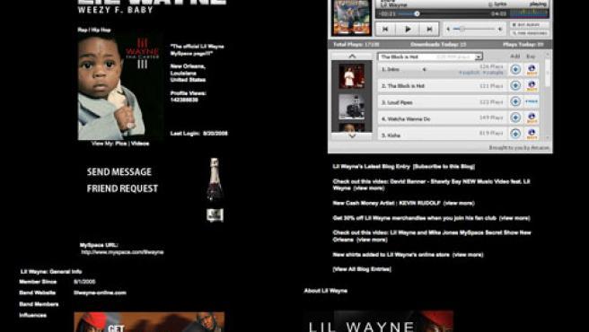 MySpace ya ha estrenado su esperado proyecto musical.