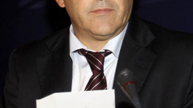 El presidente de la UEFA, Michel Platini.