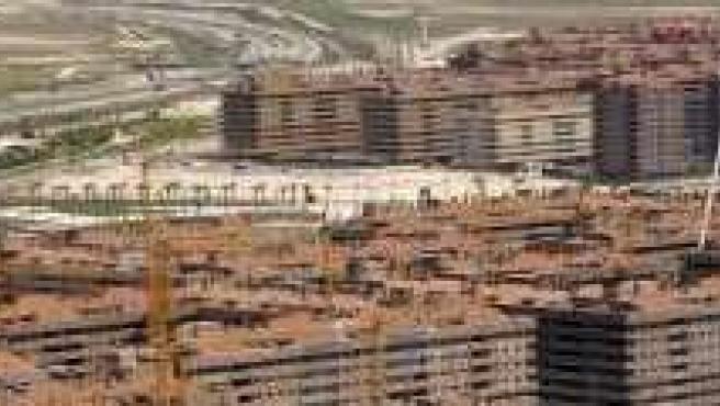 Urbanizaciones en Seseña, una de las zonas señaladas.