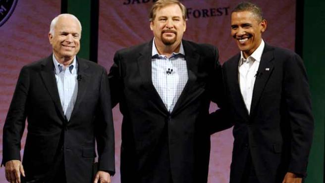 McCain y Obama se jugarán la presidencia de EE UU el 4 de noviembre.