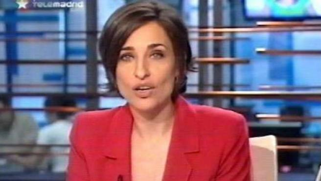 Begoña Tormo, presentadora de Buenos Días, Madrid. (TELEMADRID)