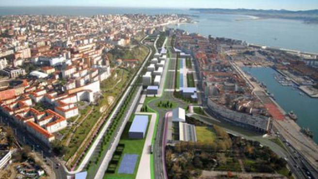 Este proyecto soterrará las vías y conectará Castilla-Hermida con la calle Alta