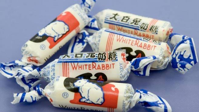 Lote de caramelos chinos supuestamente contaminados (EFE).