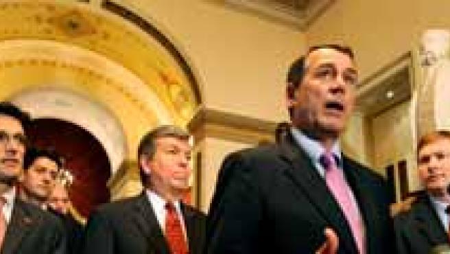 Estas semana La Cámara de Representantes y el Senado estadounidenses votarán para dar luz verde al plan de rescate. (FOTO: AGENCIAS)