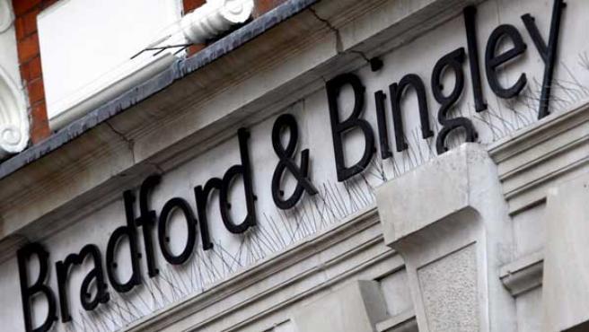 Una sucursal londinense del Bradford & Bingley (EFE).