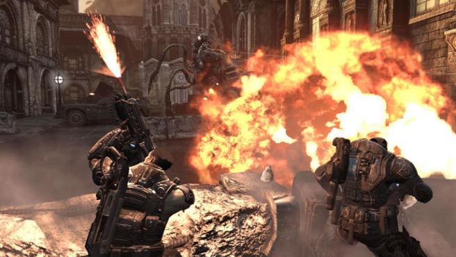 'Gears of War 2' llegará a la Xbox 360 en noviembre.