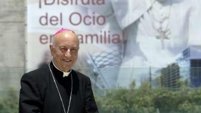 García-Gasco fue el organizador de la visita papal a Valencia.