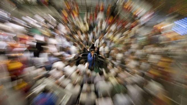 La crisis económica ha azotado, especialmente, a las Bolsas de todo el mundo (AGENCIAS).