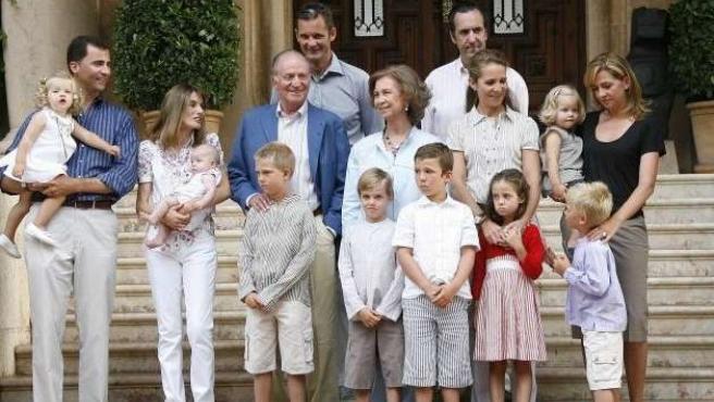 """La Constitución establece que el Rey recibe """"una cantidad para el sostenimiento de su familia y de su casa"""". 20MINUTOS/ARCHIVO"""