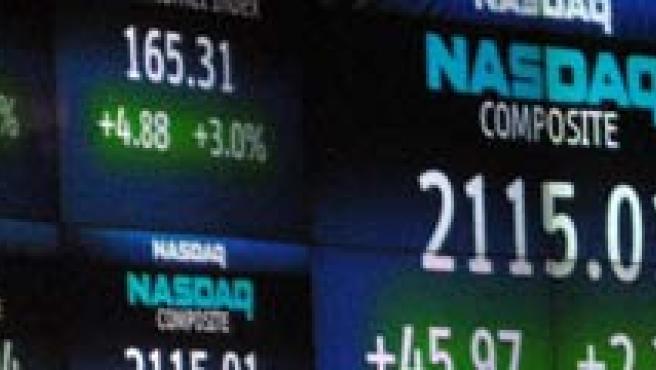 Cotizaciones del mercado tecnológico.