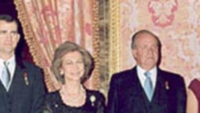 La familia Real, en una foto oficial (Casa Real).